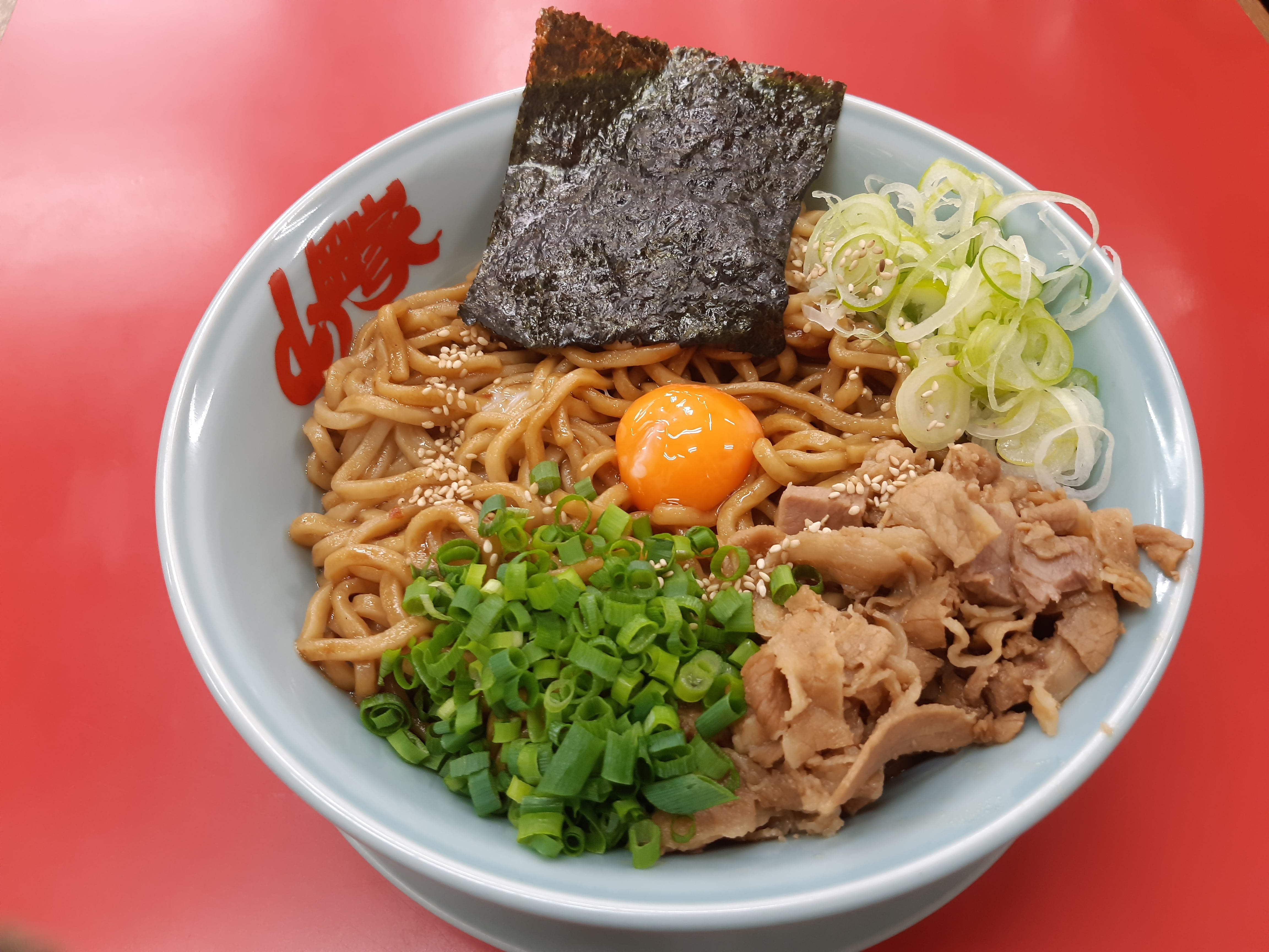 増配を発表した山岡家の期間限定まぜそばを食べに行く