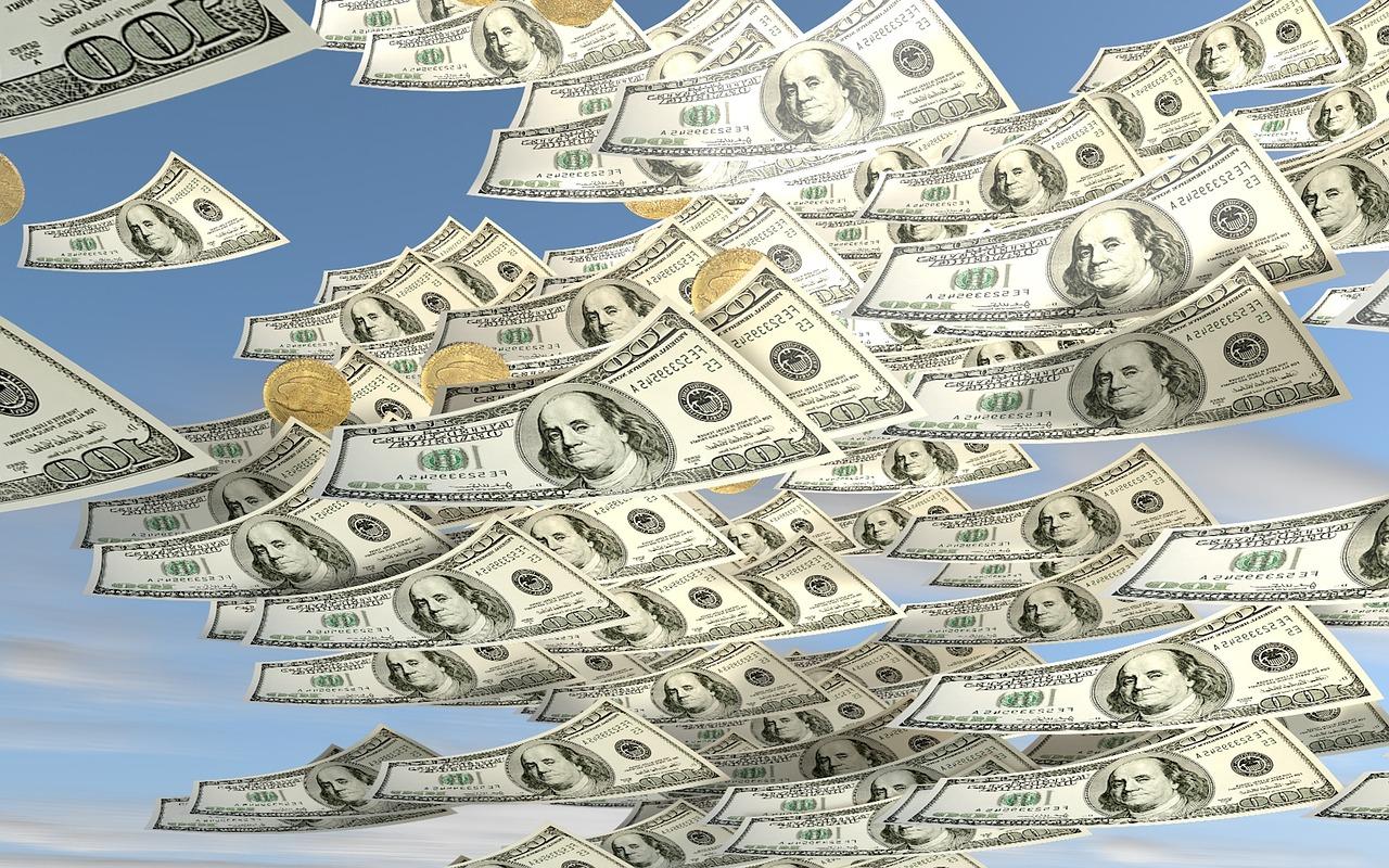 株式市場の流れにうまく乗ることができればお金は増えていく