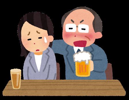 降格した上司の愚痴を聞かされるために食事に誘われるのが迷惑